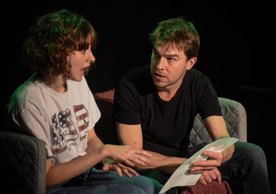 Photography by Mark Russell - Features: Imogen Butler (Sarah) and Rob Butler (Andy)